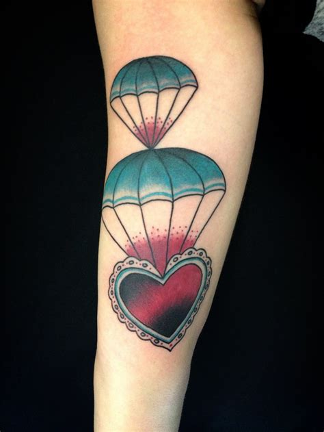 parachute tattoo designs ideas design trends