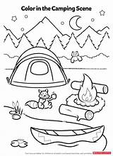 Coloring Activity Pages Camping Worksheets Printables Activities Campfire Preschool Smores Worksheet Fun Theme Scholastic Crafts Sheets Printable Summer Sheet Kindergarten sketch template