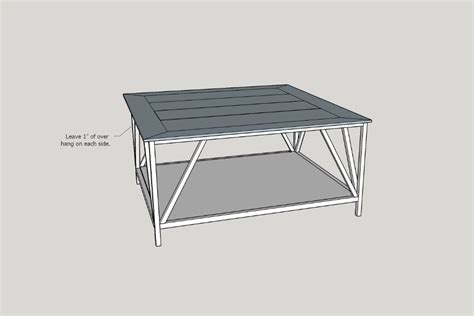 Here, you can find stylish modern farmhouse coffee tables that cost less than you thought possible. Modern Farmhouse Square Coffee Table - buildsomething.com