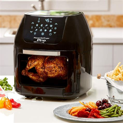 air fryer powerxl oven rotisserie power cooking qt chicken holiday guide gift fsm frying whole amzn cook sizes which