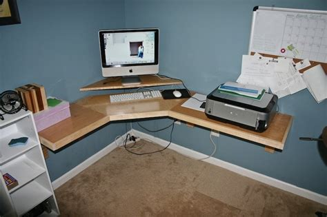 how to build a computer desk from scratch build your own corner desk pdf woodworking