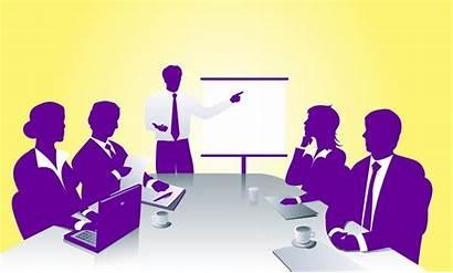 Meeting Clipart Staff Business Meetings Presentation Sales