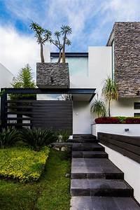 Ingreso Casas Modernas De Aaestudio Moderno