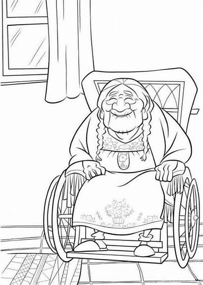 Coloring Pages Mama Disney