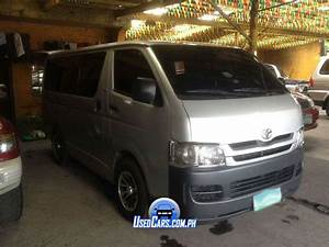 Used 2009 Toyota Hiace Manual Transmission For Sale