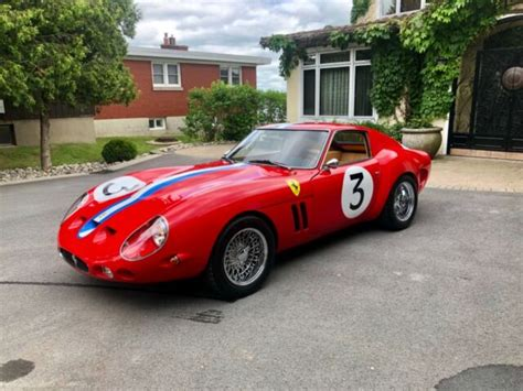 Buttons:3 frequency:434 mhz part no:unknown transponder:id48 key type: 1962 Ferrari gto replica for sale - Ferrari 250 GTO 1962 for sale in Kingston, Ontario, Canada