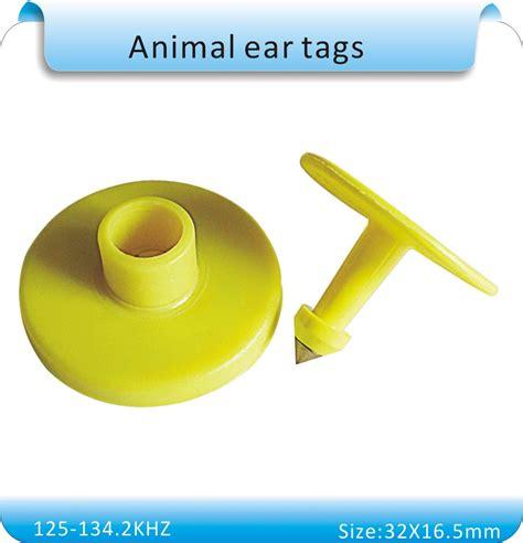 Pcs Khz Animal Ear Tag Rfid Electronic