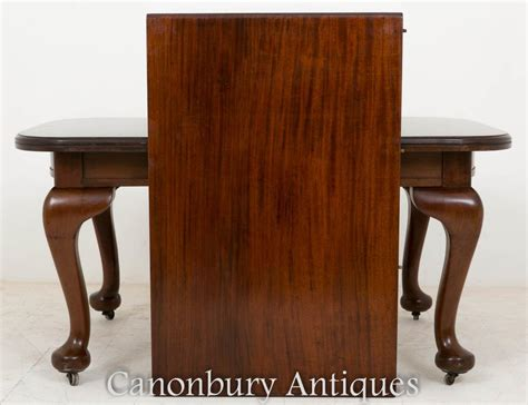 dining set mahogany tables and chairs 1900