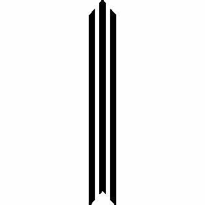 Decorative Vertical Lines Clip Art