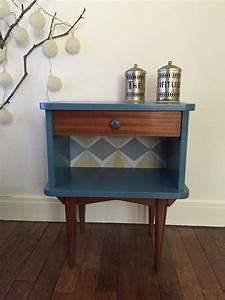 Table De Chevet Bleu : 1000 id es sur le th me table de chevet scandinave sur ~ Preciouscoupons.com Idées de Décoration