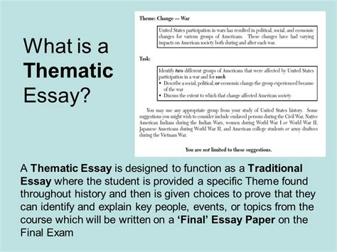 Global Interdependence Thematic Essay