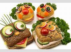 Rezept Frühstücksbrote mit Gesichtern Glockenbäckerei