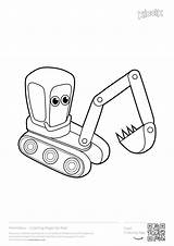 Coloring Pages Excavator Digger Printables Construction Printable Excavators Colouring Games Boys Toddlers Toddler Ford Activities Popular Printer Cars Coloringhome sketch template