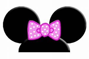 mickey mouse ears template clipartsco With template for minnie mouse ears