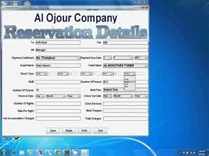 Hotel Reservation System  U0026 Java Desktop Application