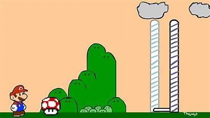 End Mario Gifs Level Flash Google Scene