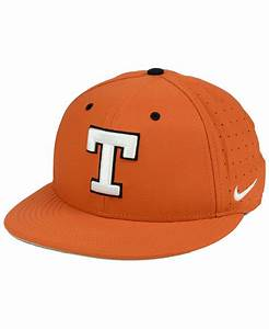 nike synthetic longhorns aerobill true fitted