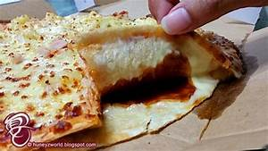 Domino's Pizza New Cheese Burst Crust Pizzas Are Bursting ...