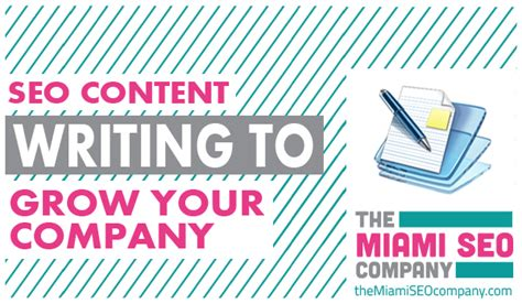 Seo Content Writing by Seo Content Writing For Growing Your Business The Miami
