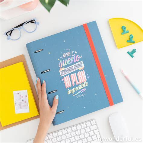 Novedades de papelería Mr Wonderful para estudiar