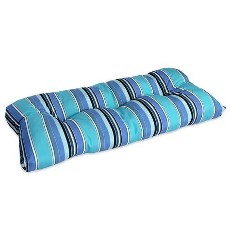 Sunbrella Settee Cushions by Comfort Classics 45 X 18 In Sunbrella Wicker Settee