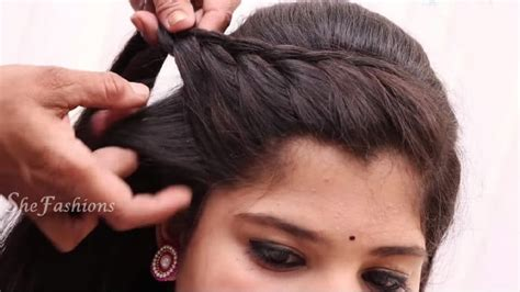 how to make stylish hair style simple craft idea 6447