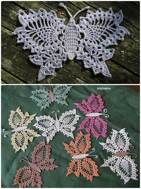crochet butterfly  patterns