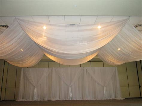 Ceiling Draping Techniques charleston wedding draping ceiling tanis j events