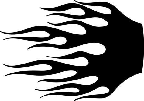 stencil flames clipart