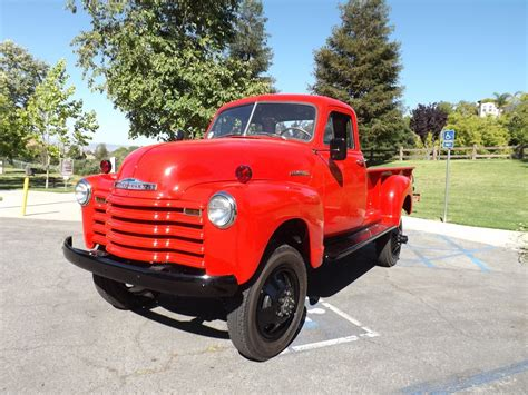 Chevrolet Trucks For Sale by Frame 1952 Chevrolet Vintage Truck For Sale