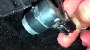 Removing Rear Back Up Sensor From Wiring Harness - Chrysler Aspe