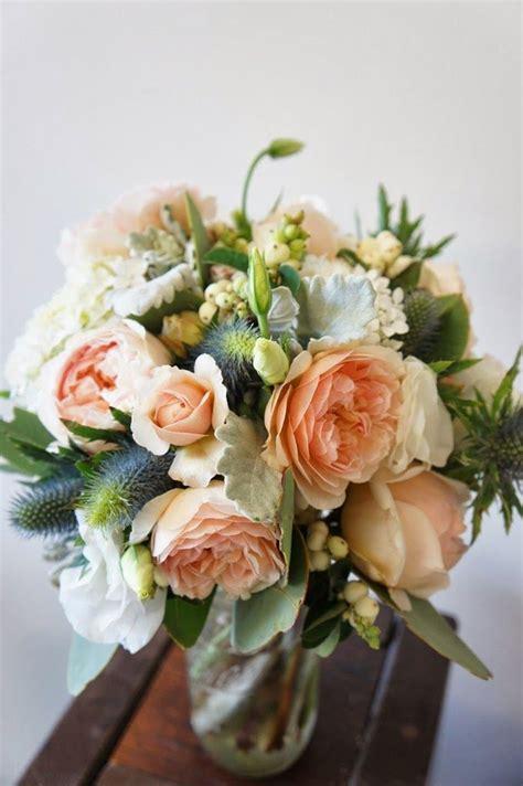 sweet juliet rose david austin wedding bouquet
