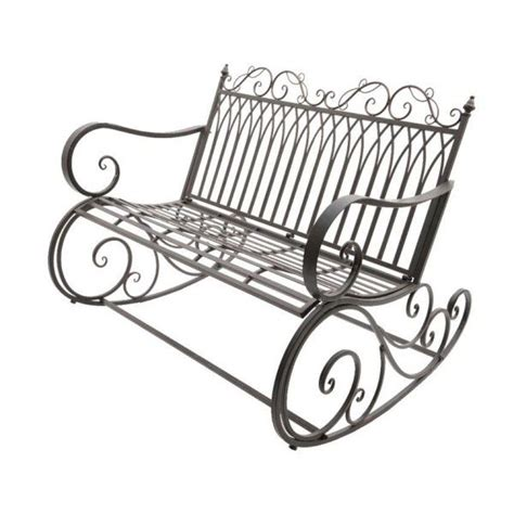 panchina ferro battuto panchina a dondolo quot max quot in ferro battuto color bruno