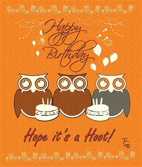 hope   hoot birthday  birthday wishes ecards