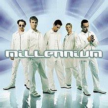 Backstreet Boys Millennium Album Cover