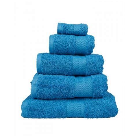 organic kitchen towels blue 100 combed cotton luxury towels 500 gsm 1231