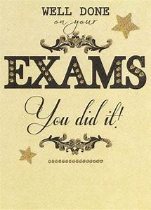 Well Done On Your Exams Greeting Card | Cards | Love Kates