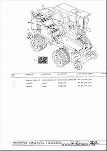 Atlas Excavators  Terex  Spare Parts Catalog  Parts Manual