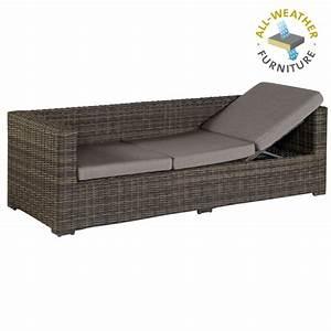 Dampfreiniger Für Sofa : exotan rimini lounge sofa bank liege loungeliege f r garten terrasse braun ebay ~ Markanthonyermac.com Haus und Dekorationen