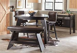 Noah Chocolate 5 Pc Counter Height Dining Room Dining