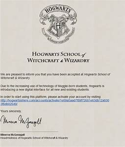 abril 2014 With hogwarts school of witchcraft and wizardry letter