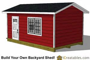 12x20 garage shed plans icreatables com