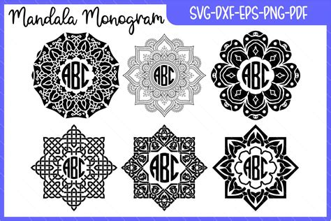 Check out our initials mandala svg selection for the very best in unique or custom, handmade pieces from our shops. monogram mandala, monogram, monogram svg, mandala svg