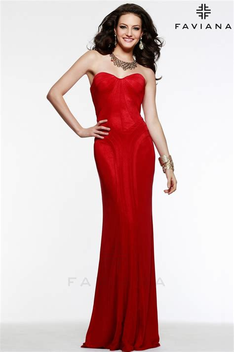 This new red low back prom dress just arrived at Stephens ...
