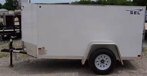 4x8 Single Axle Cargo Sel Enclosed