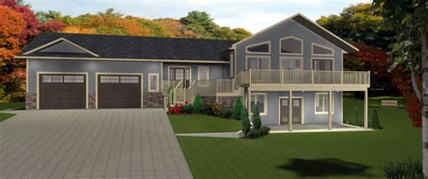 one house plans with walkout basement walkout basements by e designs 5 walk out basement