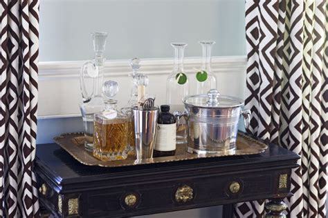 Brown Living Room Decorations by Liquor Tray Photos Design Ideas Remodel And Decor Lonny