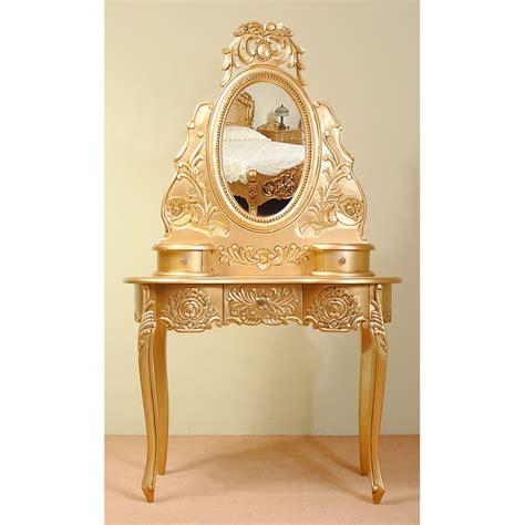 gold rococo dresser dressing table baroque livetimepl