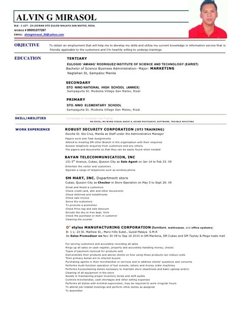 sle resume description staff order custom