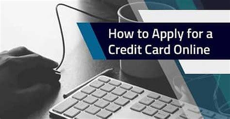 apply   credit card   steps